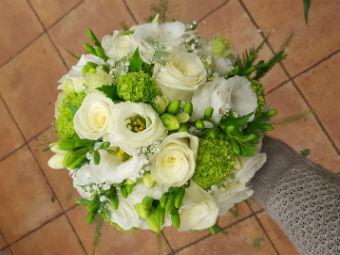 Beau bouquet mariage