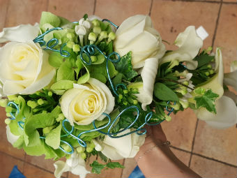 Bouquet mariage Floreal Rey