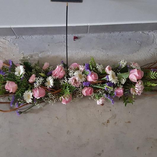 Fleurs pour rendre hommage