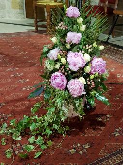 Grand bouquet mariage